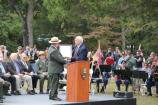 The state of Mississippi turns over the monument to the NPS