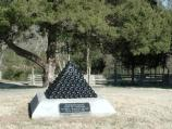 This monument marks the approximate location of Confederate general Braxton Bragg's headquarters on January 1-3, 1863.