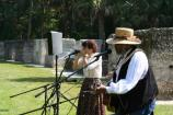 Sparky and Rhonda Rucker performed spirituals and blues at the 2005 Kingsley Heritage Celebration.