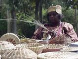 Sea grass basketmaking demonstration