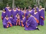 The Edward Waters College Gospel Choir at the 2000 Kingsley Heritage Celebration.
