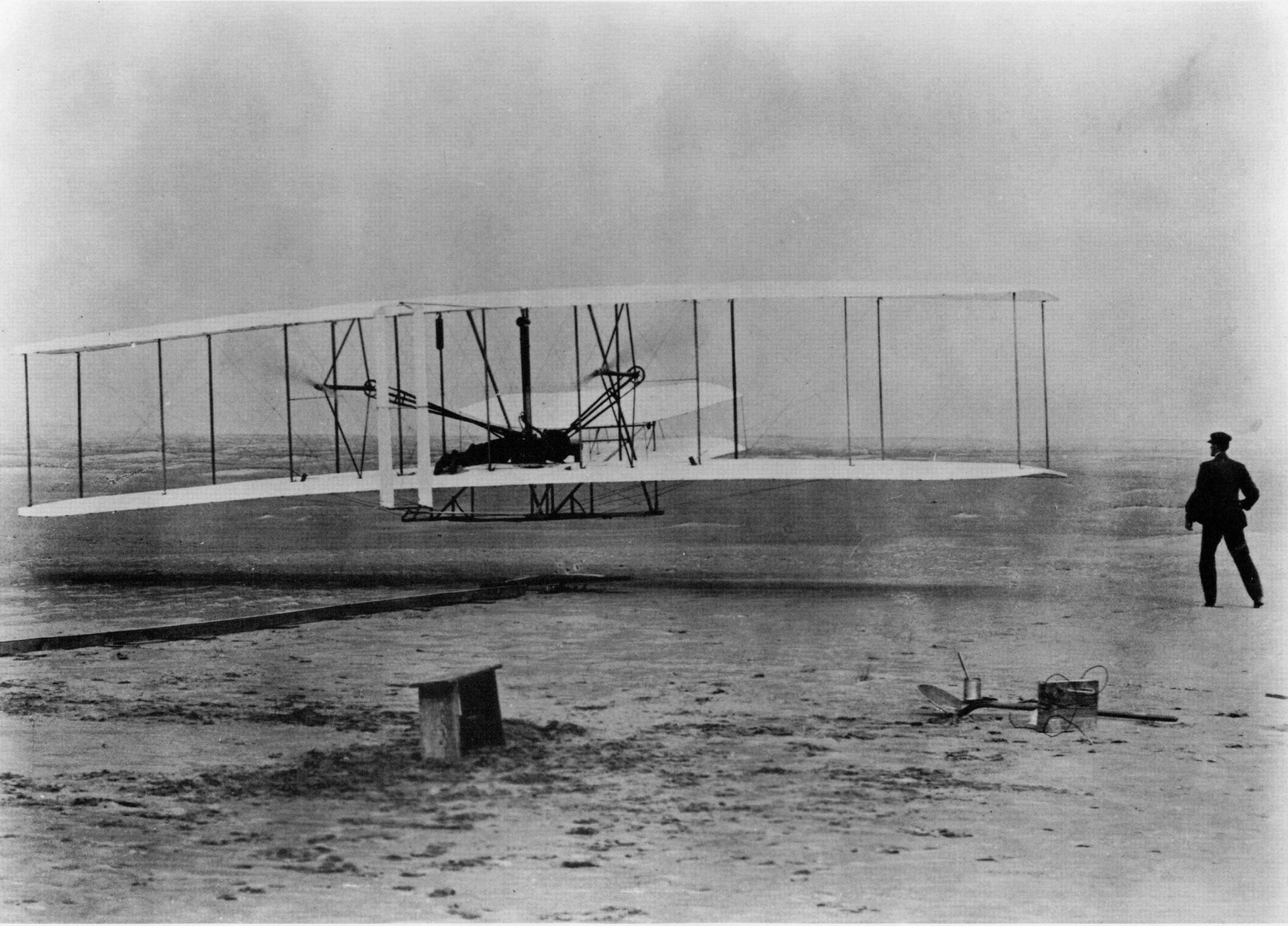 First Wright Brothers Flight throughout photo gallery (u.s. national park service)