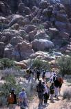 Setting out from the Fiery Furnace parking lot.
