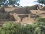 Aztec Ruins in the summer