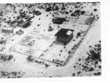 The Casa Grande and Compound A aerial view circa 1926-1927. (CG-0606)