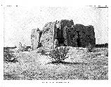 The Casa Grande from the northeast circa 1890. Published in the Bureau of American Anthropology 13th Annual Report, 1891-1892. (CG-0571)