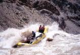 Raft in Cataract Canyon
