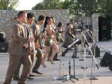 Popular performing groups participate in the summer concert series
