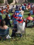 During our Independence Day concert, staff spotted some visitors displaying their patriotism in new ways.