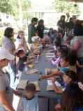 Junior Rangers make lots of crafts on Junior Ranger Day
