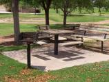 The Memorial has a limited number of tables and grills located in different areas of the park that are available on a first-come/first-serve basis.