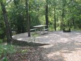 Campsite at Buckhorn Area of the Lake of the Arbuckles at Chickasaw National Recreation Area