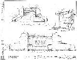 This plan shows a proposed rustic-style pavilion structure for the Black Sulphur Spring area, to replace the 1929 neo-classical pavilion. This design was never realized and the 1929 pavilion survives to the present-day.