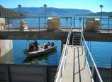 Rangers perform boat patrols on Blue Mesa Reservoir, the largest body of water in Colorado.