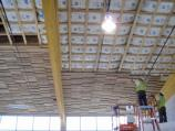 Tongue-and-groove ceiling, installed Mar. & April 2011