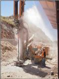 Drilling mircopiles, July 2010