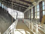 Quarry Exhibit Hall mezzanine, late Aug. 2011