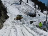 May 12, Plowing the 3rd Chute in the Alps