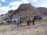 The 4WD group poses on the way to Alstrom Point.