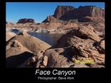 Photo entry in the 2007 Glen Canyon Photo Contest. Picture taken in Face Canyon.