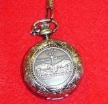 Pocket Watch with Utah State Quarter Image $18.00