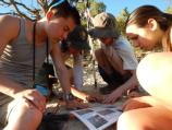 Participants learn about Grand Canyon's rich geologic history by studying its fossils!