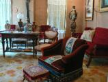 The formal parlor was used when the Kohrs family were entertaining guests.