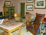 The sitting room was like family rooms or dens are for us today. The Kohrs family spent a lot of time here.