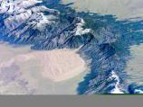 View of Great Sand Dunes NPP from Space