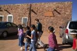 E School Group Exploring Hubbell Trading Post NHS
