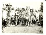 Group of people present at the 50th Anniversary of the Battle of the Little Bighorn