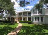 The Texas White House is the main focal point of the LBJ Ranch and was the scene where many national decisions took place. The Johnsons bought the home from President Johnson's Aunt Frank Martin in 1951.