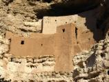Montezuma Castle is the best preserved prehistoric cliff dwelling in North America. This 20-room structure dominates the south-facing limestone cliff above the park visitor center and trails.