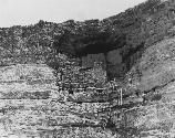 An image of Montezuma Castle just after the first major restoration effort in the 1930's.