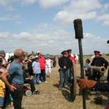 Living historians give and artillery talk