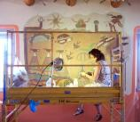 Mural Conservation, Painted Desert Inn National Historic Landmark, Petrified Forest National Park