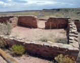Puerco Pueblo Excavated Room, Petrified Forest National Park