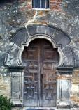 Mission Espada Church Doorway