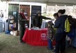 Corps of Engineers' booth