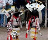Apache Crown Dancers from Peridot Headstart, Bylas, Arizona