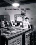 This shot was taken in the 1960s showing the female employees of Tuzigoot National Monument. Selling items from the bookstore and answering visitors' questions are still duties of NPS employees.