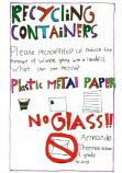 At Walnut Canyon you can recycle plastic, metal, and paper.