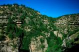 Scenic View of Walnut Canyon