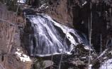 Gibbon Falls; April 2001; Accession No. 18092