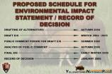 19. Proposed Schedule for EIS/Record of Decision