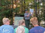 A wide range of Ranger-led programs are available including campfire talks, guided hikes, and lighthouse tours.