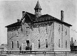 Madison School in Topeka, Kansas in the 1880s.