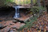 Two tiers of Blue Hen Falls