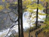 Brandywine Falls and observation area