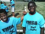 YMCA kids photograph park